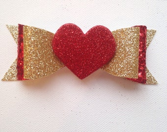 Red/Gold Heart