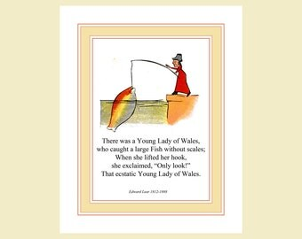 There was a Young Lady of Wales - Edward Lear