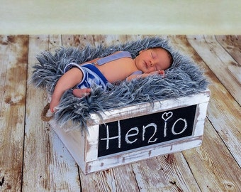wood box, newborn photography prop, newborn prop, photography prop,