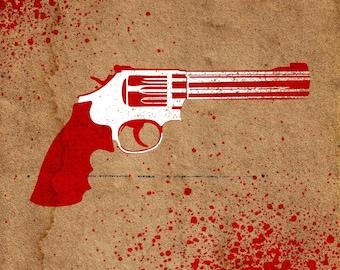Revolver Stencil