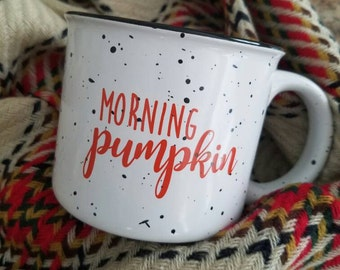 Morning Pumpkin Coffee Mug, Campfire Coffee Mug, Coffee Mug, Fall Mug, Morning Pumpkin, Coffee, Tea, Mug, Campfire Mug