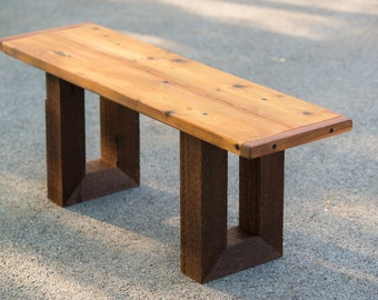 Handmade Outdoor Wooden Bench Outdoor Furniture
