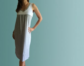 Corfu - Organic cotton nightgown made in Australia