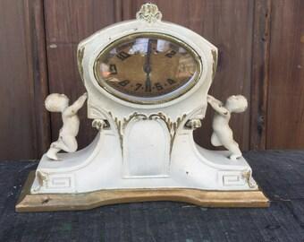 Iron Cherub Clock