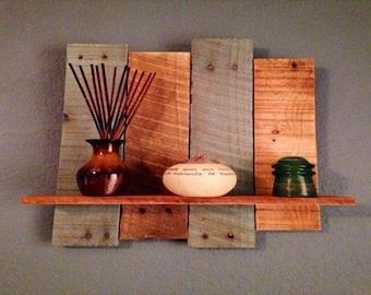 pallet shelves decorative