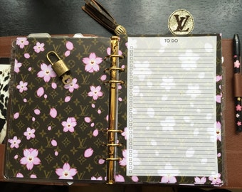"Brown & Pink Cherry Blossom Flowers ""To-Do"" Insert pages GM ONLY"