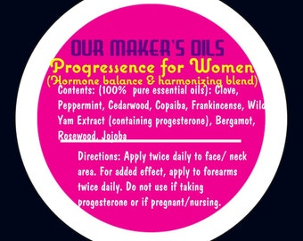 Progressence For Women was inspired by YL's Progressence Plus. Specially formulated for women over 30 to balance hormones in body and skin!