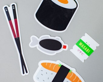 SUSHI STICKER PACKS
