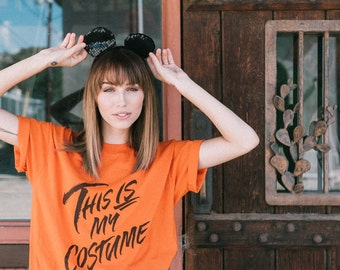 """Vintage """"This Is My Costume"""" T-Shirt"""
