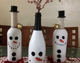 Snowman trio