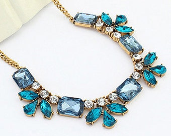 Chunky Necklace, Beautiful Trendy Necklace, Lady's Necklace, {free Shipping]