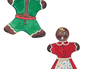 Gingerbread Cookie Set Puzzles