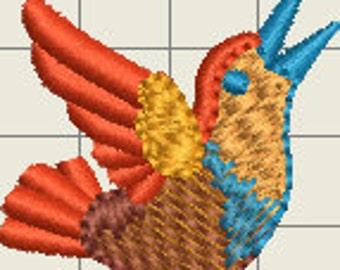 Bird Embroidery pattern