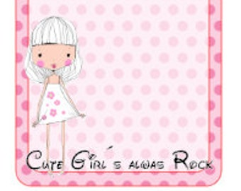 Cute Girl Collection Block 3