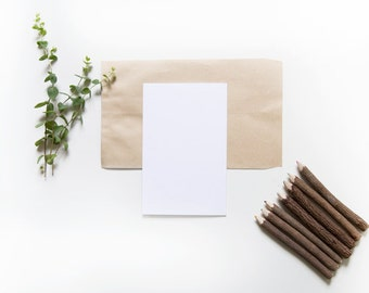 Minimal Stationery Mockup Bundle, Your Product Here, Styled Stock Photo, Invitation Mockup, Your Design Here, Listing Mockup, Card Mockup