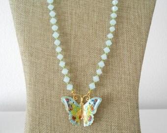 cloisonne butterfly 6509