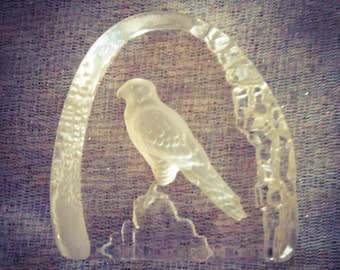 PAPERWEIGHT   Hawk/Eagle  Excellent Condition    VINTAGE ITEM