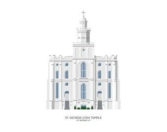 St. George Utah Temple (digital file)