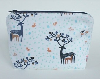 Cosmetic Make Up Bag - Little Deer