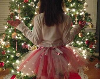 Christmas Tutu, Baby's first Christmas tutu, Baby tutu,Newborn tutu,Toddler tutu,Girl tutu,Candy Cane tutu, Winter tutu,Princess tutu