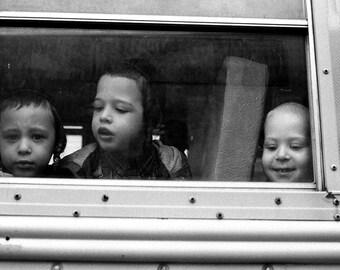 School Bus, Brooklyn, NYC.