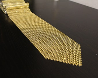 Gold Rhinestone Bling Table Runner