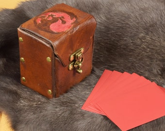 Leather Mountain Magic Deck Box