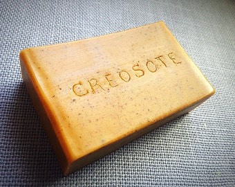 Creosote Cream Soap, Goat Milk Soap: Soap, Creosote, Goat Milk Soap, Goats Milk Soap, Glycerin Soap, Glycerin, Essential Oil, Man, Men