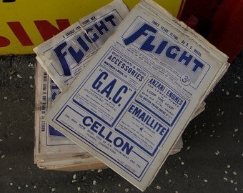 A job lot of 67  Flight magazines 1909-14 Royal aero club  Aero weekly Collection only
