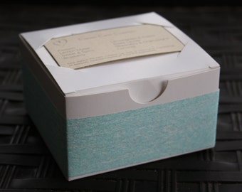 Baby Blue Soap Gift Box