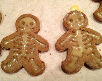 Gingerbread Skeleton Cookie Cutter - 14