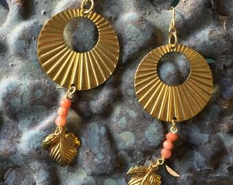 Anatólia Ray of Light Sunstone Earrings