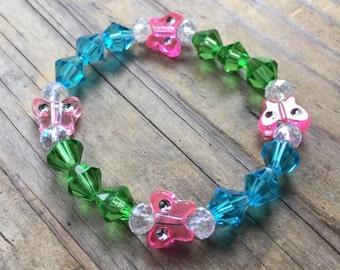 Girls Butterfly Bracelet