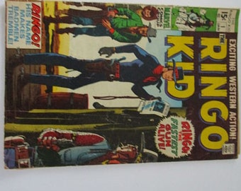 Marvel Comics Group The Ringo Kid Vol. 1 No. 1 First Issue 1970 Vintage Comic