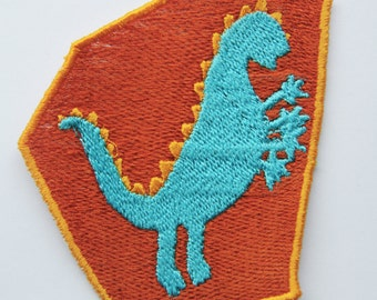 Applique - Sew on Badge - Monster Patch