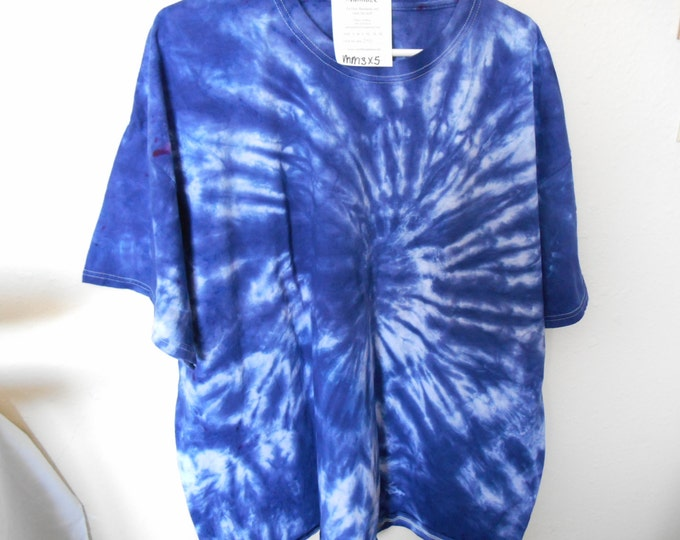 100% cotton Tie Dye T-shirt MM3X5 size 3X