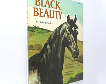 Black Beauty Vintage Children's Book 1962 - Free Shipping