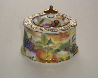 Fruit Display Porcelain Trinket Dish