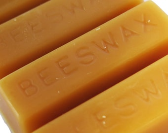 All Natural Pure 100% Bees Wax ~ 1 oz Block of Beeswax for Candles, Crafts and So Much More!
