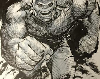 Hulk sketch by Steve Lieber