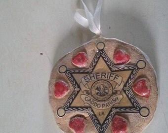 Caddo Parish Sheriff Ornament