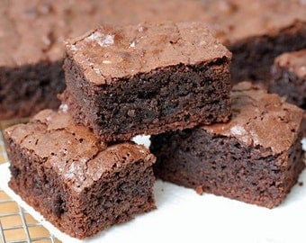 Milk Chocolate or Fudge Brownies