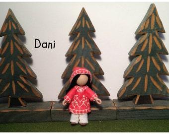 Little Sister Dani - Pocket Doll - Bendy Doll