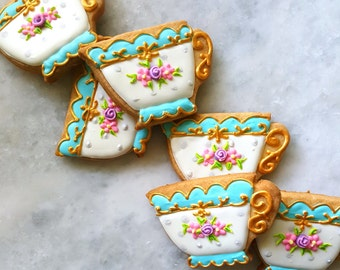 Victorian Afternoon Tea Sugar Cookies (1 Dozen)