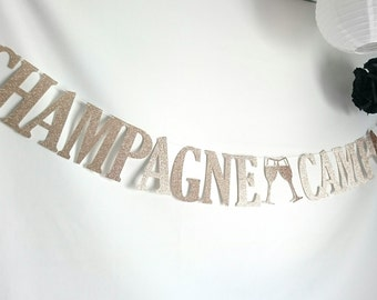 Bubbly Bar Sign, Glitter banner, Party banner, Bachelorette Party Banner, Engagement Party, Party decorations,Champagne, drink banner,drinks