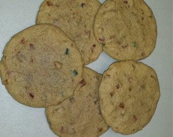Two Dozen Handmade Fruit Cake Cookies