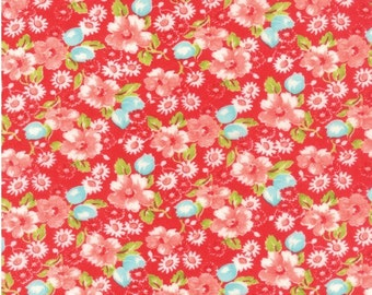 Red Little Ruby Fabric by Bonnie and Camille for Moda - 55130 11