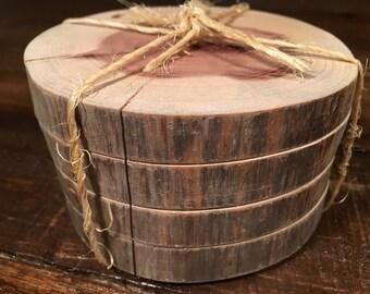 SHOP SALE!! Cedar Driftwood Coasters