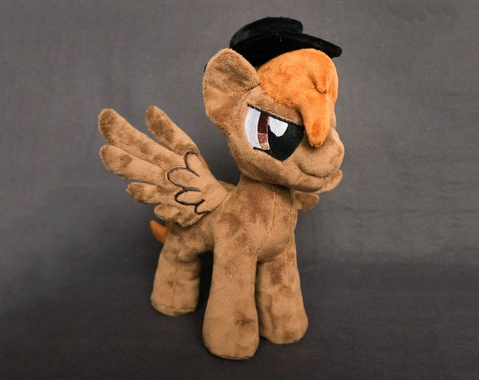 Plush Deadshot Calamity Fallout Equestria Custom Pony 12 inches