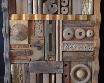 Untitled Wood Assemblage